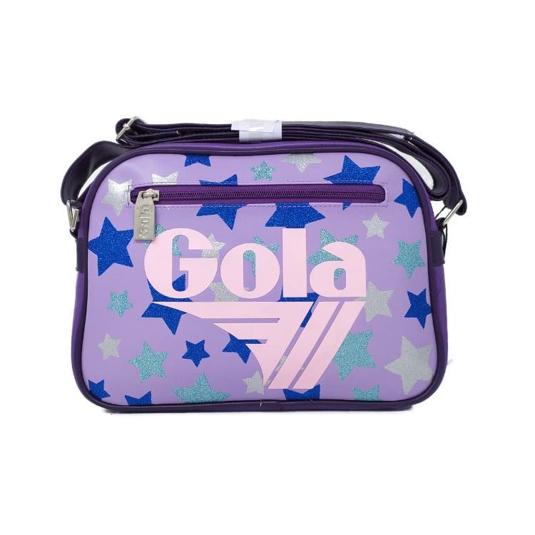 "Featured image for ""Borsa Gola Mini Redford Glitter Multi Stars Liliac Violet"""
