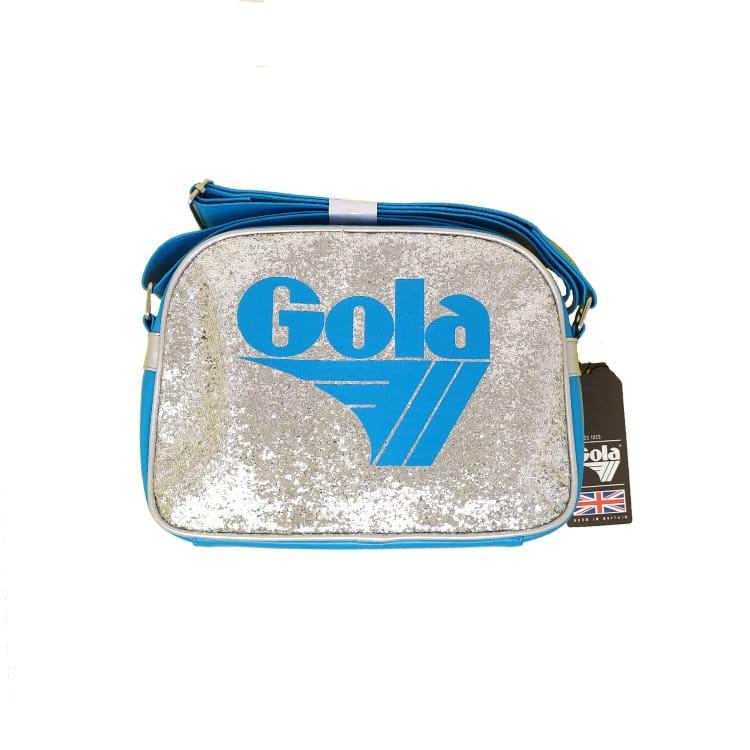 "Featured image for ""Borsa Gola Mini Redford Glitter Dust Sky Blue Silver"""