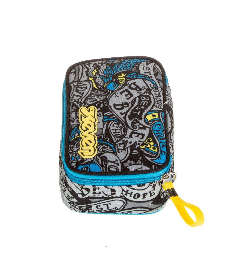 """Featured image for """"Astuccio Scuola Seven Quick Case Koi Grigio"""""""