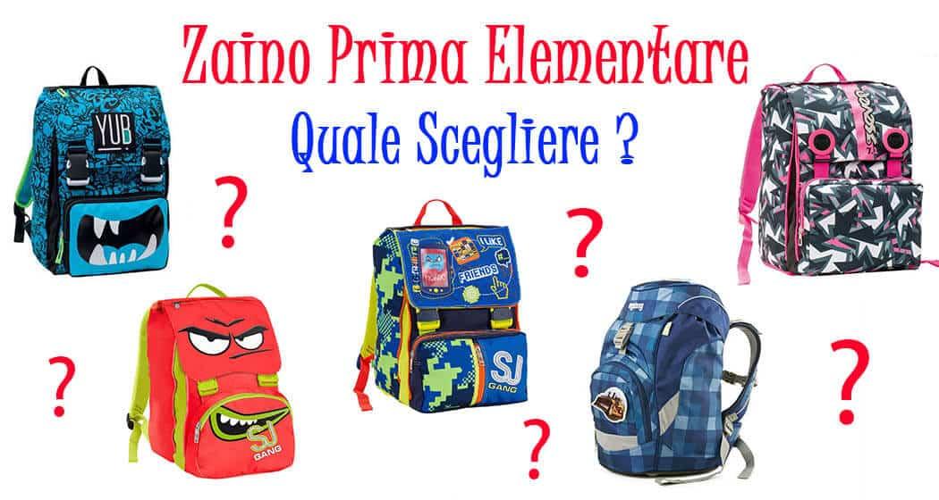 a29656da62 ZAINO PRIMA ELEMENTARE: QUALE SCEGLIERE? - E-cartoleria.it