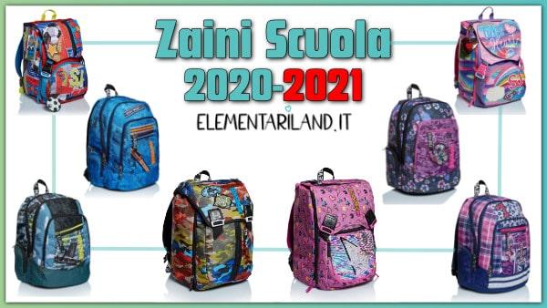 Zaini Scuola 2020-2021