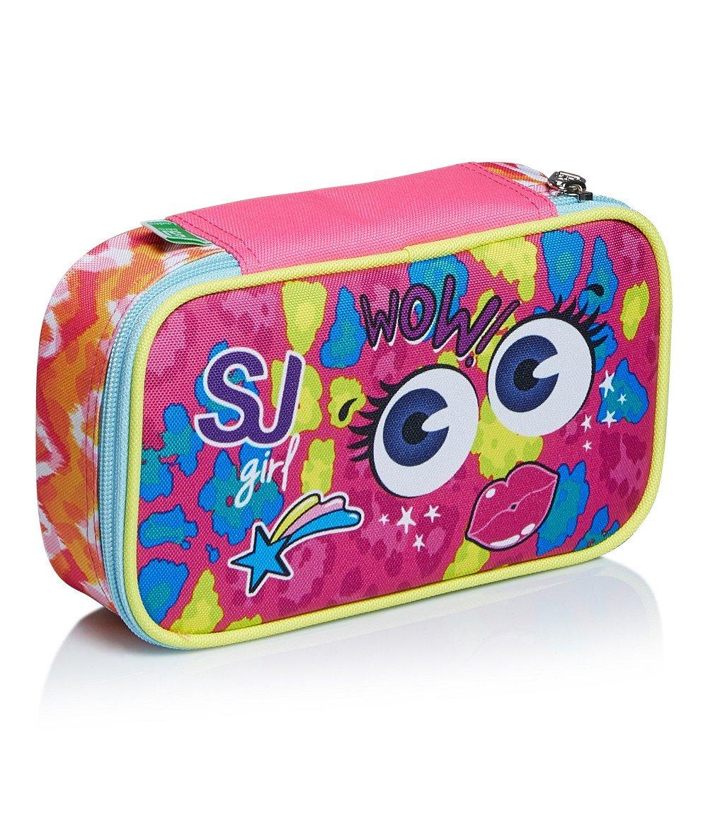 """Featured image for """"Astuccio Quick Case SJ Facce Girl Multicolor"""""""